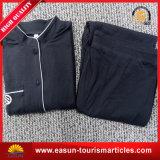 Pyjamas en coton ordinaire de haute qualité pour la compagnie aérienne (ES3052319AMA)