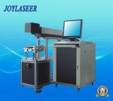 Máquina de alta velocidad de la marca del laser del CO2 3D para Leatherware