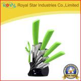 セットされるホールダーの陶磁器のナイフが付いている5PCS台所用品(RYST0105C)