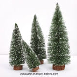 Mini pequeño árbol de navidad del PVC