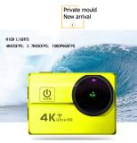 4k ultra HD Waterproof a came WiFi Q5h-1 do esporte DV da câmera