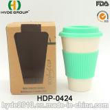 Heiße Verkäufe BPA geben Bambusfaser-Cup frei (HDP-0421)