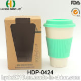 Heiße Verkäufe BPA geben Bambusfaser-Kaffeetasse frei (HDP-0424)