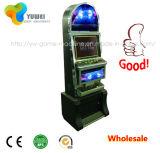 Máquina de juego electrónico de juego del vector de la diversión de interior con el lector de tarjetas de la moneda