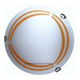 Het ronde Licht van het Plafond van het Glas van de Lamp van het Plafond Moderne voor het Gebruik van de Slaapkamer
