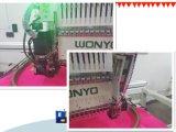 Machine plate automatisée à grande vitesse de broderie de T-shirt de chapeau de têtes de Wonyo 8