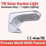 Luz solar al aire libre de aluminio integrada de la pared del jardín LED de Houseing