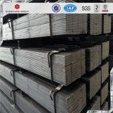 Qualité fendant l'acier de barre plate noir laminé à chaud du carbone Q235
