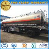 Reboque de tanque de combustível de liga de alumínio Reboque tanque de aço inoxidável de 50000 litros
