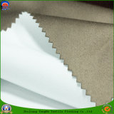 Tela tejida colorida de la cortina del poliester de la materia textil del apagón impermeable revestido casero del PVC franco
