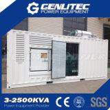 Звукоизоляционный тип 1000 генератор контейнера дизеля kVA Cummins
