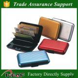 De hete Kaart van de van het Bedrijfs product RFID van de Verkoop Blokkerende Houder van de Kaart van de Portefeuille van Alumimium