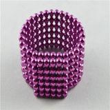 По-разному цветы магнитных шариков
