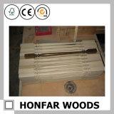 Rete fissa bianca interna della scala di legno solido