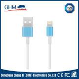 Norme bleu-clair ronde de RoHS de chargeur des caractéristiques USB de PVC