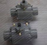 3000psi 3 robinet à tournant sphérique posé par métal industriel de pouce A105