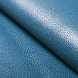 Couro gama alta do plutônio de Furnitur Microfiber para o sofá (HS-M005)