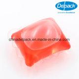 Baccello liquido rosso del detersivo di lavanderia del ODM 20g, detersivo liquido, OEM