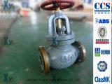 Válvula de globo marinha JIS do ferro de molde F7305 F7353 5k