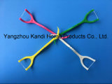 Toothpicks del filo per i denti del commestibile con la maniglia dell'ABS