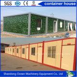 Fácil de lujo móvil instalar la casa plegable del envase de Sturcture de acero China hizo fabricantes de la casa