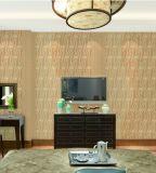 Qualität waschbare Tapete des Belüftung-Wohnzimmer-3D für Innenwand-Dekoration
