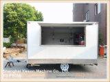 Acoplados móviles del Bbq del carro del helado de la alta calidad de Ys-Fb350 los 3.5m para la venta