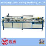 Máquina cilíndrica de la pantalla de seda para la impresión plana de la materia prima