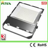 A iluminação do diodo emissor de luz da inundação do diodo emissor de luz 200W que ilumina o ginásio ao ar livre substitui o projector de alta pressão da lâmpada do sódio 800W