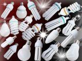 ampoules d'économie d'énergie du lotus 3000h/6000h/8000h 2700k-7500k E27/B22 220-240V de 125W 150W