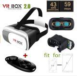 2017の専門のVrボックス3DガラスVrはバージョンバーチャルリアリティ3DのビデオGlasses+ Bluetoothをアップグレードした