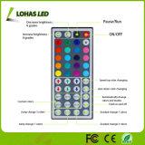 Luz flexível da corda do diodo emissor de luz da C.A. 220V da C.C. 12V da luz de tira 60 LED/Meter do diodo emissor de luz 5m/Roll com controlador remoto