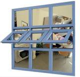 Toldo do painel do frame de alumínio e balanço de vidro Windows
