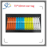 6 kleuren 7210mm de Dierlijke Volgende Markering van het Oor van de Geit van de Schapen van Markeringen