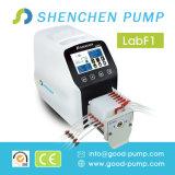 Grand flux de laboratoire dosant la pompe péristaltique à haute précision de pompe de vitesse réglable auto-amorçante péristaltique de pompe