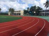 Polyurethan-Chemiefasergewebe/laufende Plastikspur, Laufbahn für Sport-Bereich-Bodenbelag
