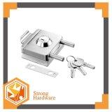 Singola serratura di portello di vetro quadrata laterale