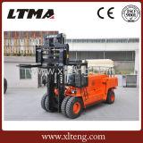 Grand chariot élévateur diesel d'appareils de manutention de matériau 25 tonnes