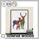 Het decoratieve Schilderen van de Kunst met Zwart Houten Frame voor Huis/Hotel