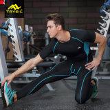 Roupa da aptidão do desgaste da ginástica das calças justas dos esportes dos homens