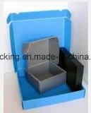 Caja de embalaje del polipropileno de los PP en vez del rectángulo del cartón con el lacre Environmently/del Velcro reciclable