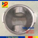 Pistón Ne6 Ne6t (12011-95074 12011-95073) del recambio del motor diesel del excavador
