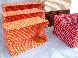 Корзина высокого качества Handmade естественная бумажная (BC-PB1016)