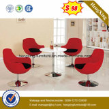 Rotes Gewebe moderner Barstool Freizeit-Büro-Ei-Schwan-Stuhl (UL-JT520)