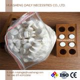 Supporti di bambù per i tessuti appiattiti della moneta, tovaglioli appiattiti con i cassetti