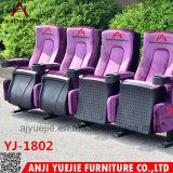 Bester VIP-Theater-Stuhl-faltende Lagerung Yj1815