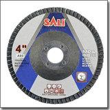 Кальцинированный диск щитка абразивного диска окиси глинозема истирательный