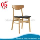 Presidenza di legno esterna moderna del caffè di vendite calde con legno solido