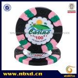 9g 3 Pure Color arcilla ultravioleta etiqueta Chip (SY-C19)