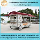 Jiejing сделало передвижной трейлер быстро-приготовленное питания тележки еды с оборудованием доставки с обслуживанием